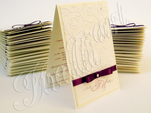 Wedding's invitations